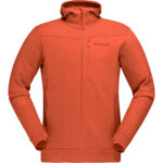 FALKETIND WARMWOOL2 STRETCH ZIP HOOD HERRE ROIBOOS THE 1299,- VEIL. 1899,-