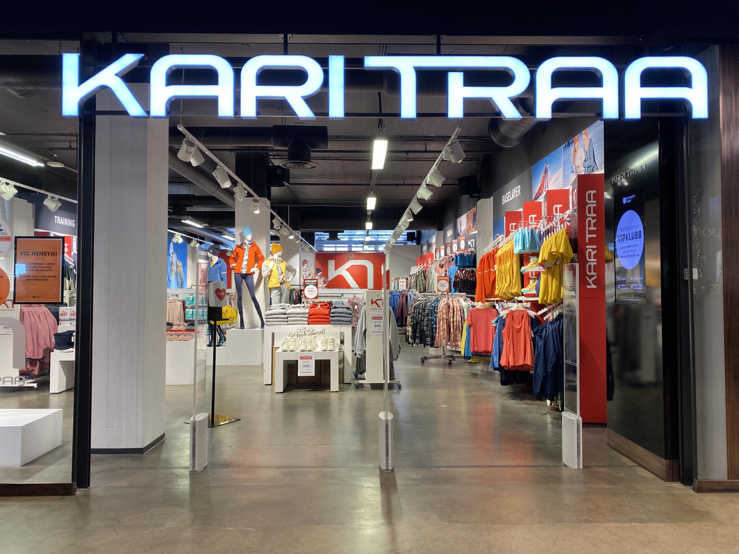 Kari Traa storefront