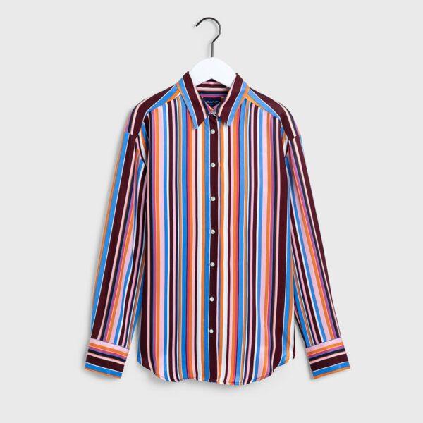 gant multistriped viscose shirt
