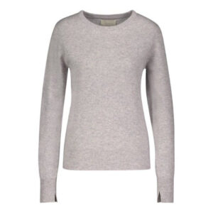 Creative Collective Cashmere R-neck grå dame