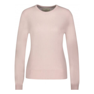 Creative Collective Cashmere R-neck rosa dame