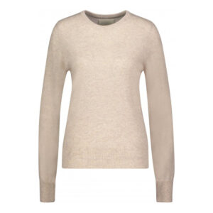 Creative Collective Cashmere R-neck beige dame