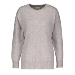 Creative Collective Cashmere Oversized grå dame