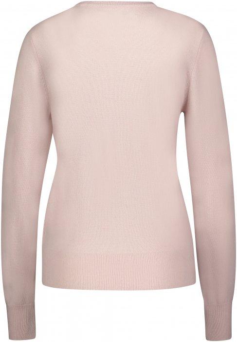 Creative Collective Cashmere R-neck rosa dame