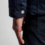the light mid length jacket detalj