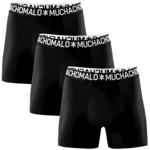 Muchachomalo 3-pk boxer sort herre