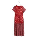 Gant Mix Print Chiffon Dress 2 kopi