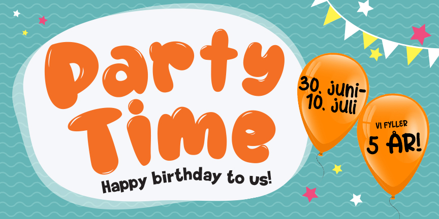 Partytime Banner