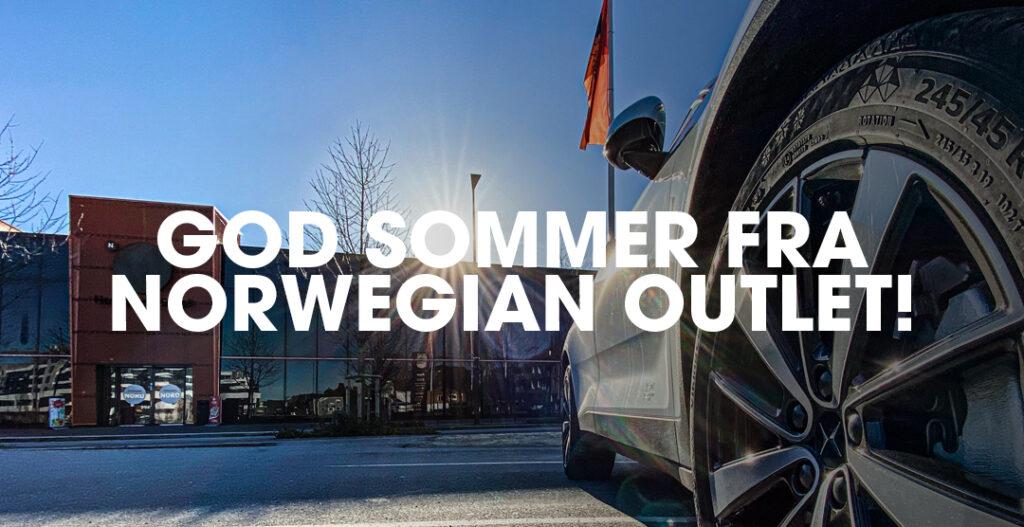 God sommer fra Norwegian Outlet